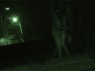 Sexy Teen Couple Caught In Park